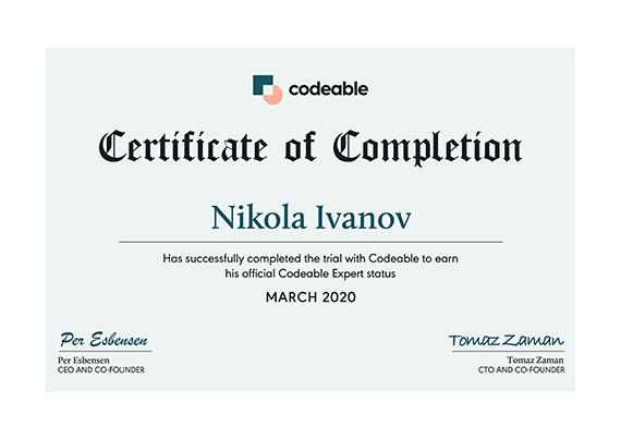 Certified WordPress developer