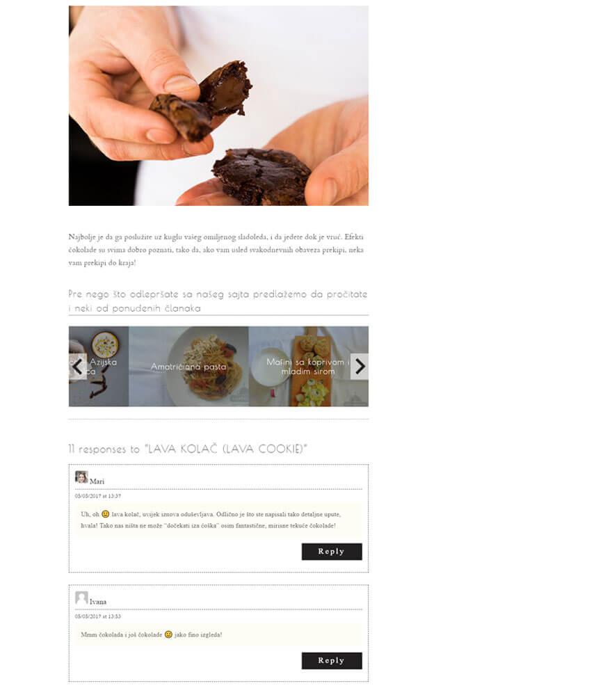 Webredone web design & development - Zakuvavanje website wordpress blog responsive image