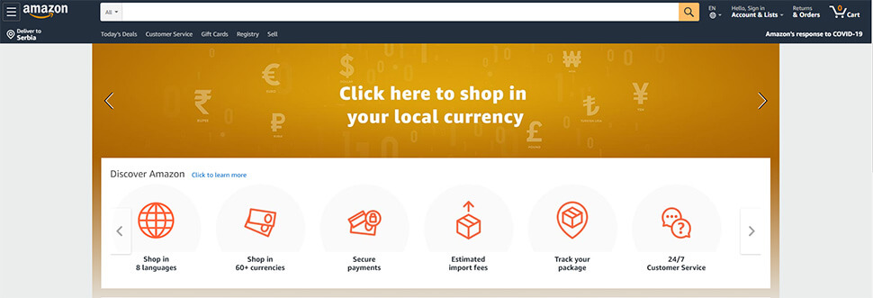 types of websites - e-commerce- by webredone