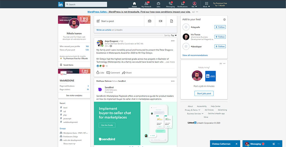types of websites - web portal (web app) - by webredone